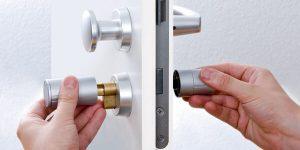 New Lock Instal